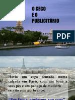 O CEGO E O PUBLICITARIO EM PARIS