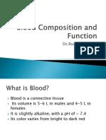 Fungsi Darah Dan Komposisi