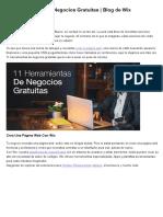 11 Herramientas de Negocios Gratuitas _ Blog de Wix