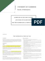 [COMPLETE] Full syllabus + rec books