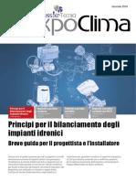 Principi Per Il Bilanciamento Degli Impianti Idronici
