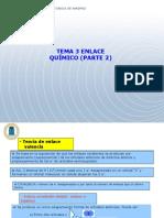 Tema 3 Enlace Quimico Parte 2