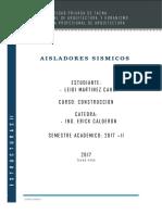 Aisladores Sismicos-leidi Mc