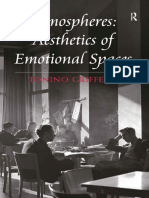 Atmospheres – Aesthetics of Emotional Spaces PARTE 1 - Tonino Griffero