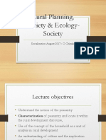 Society & Ecology Socialisation _August 2017_ OC