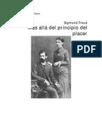 Freud Mas Alla Del Principio de Placer