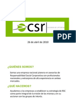 CSR Consulting Services