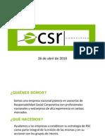 CSR Consulting Services