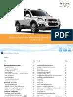 Motor e Inyeccion Electronica Diesel Captiva 2011
