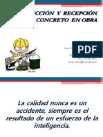 2. Producción y Recibo de Concreto