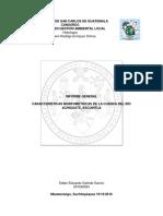 Informe Final Cuenca Río Achiguate - Hidrología