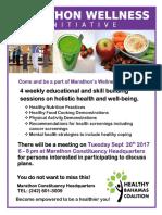 HBC - Marathon Wellness Initiative
