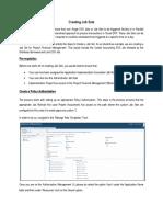 ERP Cloud - Manage Job Sets
