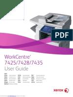 Workcentre 7425 User Guide