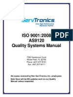 As9120 Quality Manual