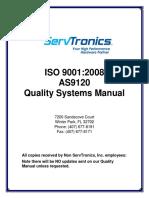 As9120 Quality Manual