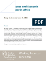 Aker, Jenny C e Mbiti, Isaac M - mobile phones and economic development in africa.pdf