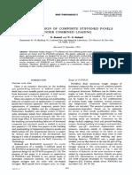 [D. Bushnell, WD Bushnell] Optimum Design of Composite Stiffened Panels Under Combined Loading