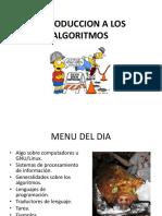 Algoritmos I UBI