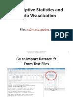 Descriptive & Visualization