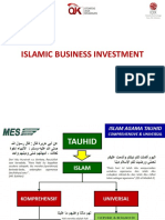 Materi Islamic Business Investment - MES 2015