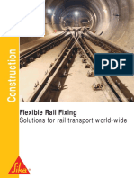 Flexible Rail Fixing