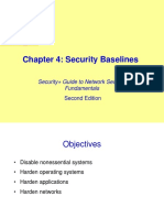 04 - Security Baselines