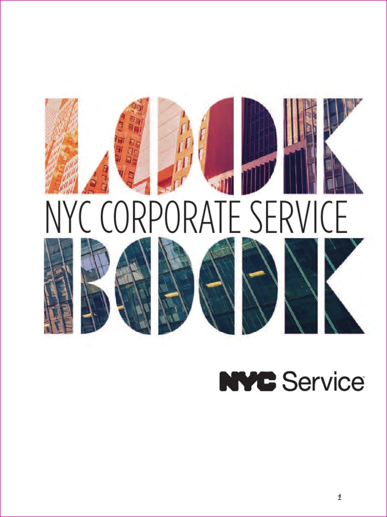 nyc corporate service look book oct 2017 | american red cross