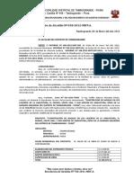 R.a 018-2012 Aprobacion de Perfil Tecnico de Proyeto