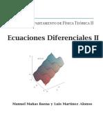 Ecuaciones Diferenciales II - Manuel Mañas & Luis Martínez Univ. Complutense