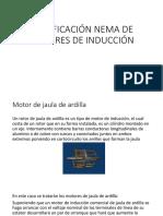 Clasificación Nema de Motores de Inducción