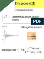 Logarithmic Decrement