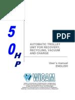 Manual Wigam HP150
