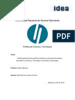 1- Política de Ciencia y Tecnología