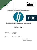 2- Ciencia, Tecnología e Innovación en América Latina