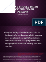 Why We Should Bring Back the Death Penalty_feedback