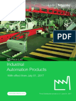 Schneider Rate List Industrial Automation Products_1st July 2017
