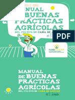 Manual de Las Buenas Practicas Agrícolas Del Cultivo de La Caña de Azúcar.