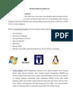 Sistem Operasi Jaringan (Soj)