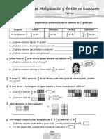 Multiplicación y División d