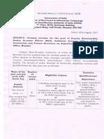 Vacancy Circular 22082017