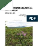 Informe Aislados 2014-2015