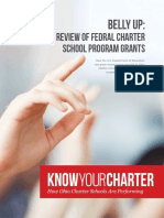 Belly Up Report on Ohio Federal Charter School Grants