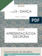 HCA - Dança - aula n1+2