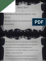 COURS INTRODUCTOIRE - Quest-ce Que La Littérature, Explication de Texte, 17e Siècle
