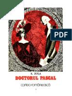 Emile Zola - Doctorul Pascal [V1.0]