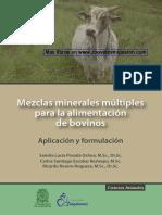 Mezclas minerales múltiples para la alimentación de bovinos