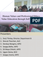 Human Values and Professional Ethics- Value Education-SLhamo