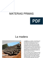Materias primas básicas