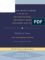 Deciding What's News - Herbert Gans Livro.pdf
